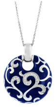 blue royale pendant